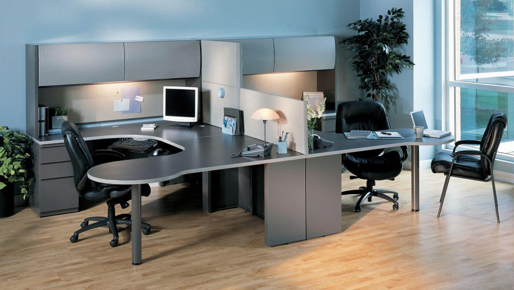 "CSII Series Double ""P"" Table ""U"" Workstation"