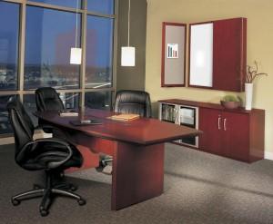 Executive Table Desk Suite