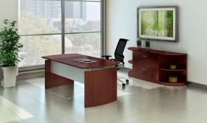 Office Suite Mahogany Laminate
