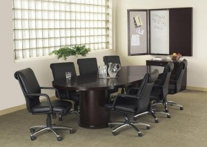 Racetrack Conference Table Suite