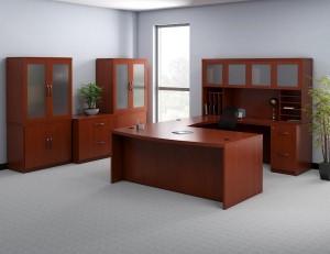 """Executive """"U"""" Desk Suite"""