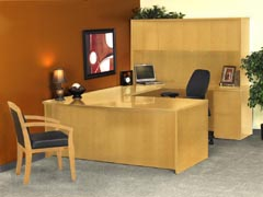 Luminary Series Contemporary Mayline Office Furniture