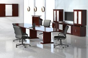 Sterling series conference table and furniture