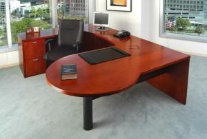 """""""P"""" Top """"U"""" Desk"""