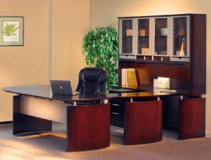 """U"" Desk Office Suite"