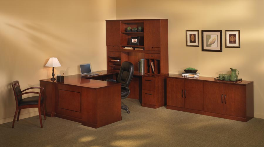 "Sorrento Series ""U"" Desk Executive Suite"