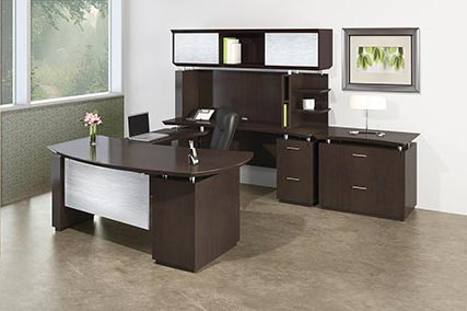 Sterling series executive office furniture suite from Mayline