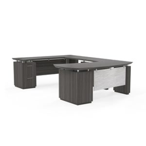 "sterling ""U"" desk from Mayline"